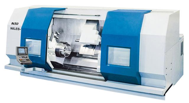 CNC-Drehmaschine N50 / CNC-Lathes N50 / Токарный станок с ЧПУ N50