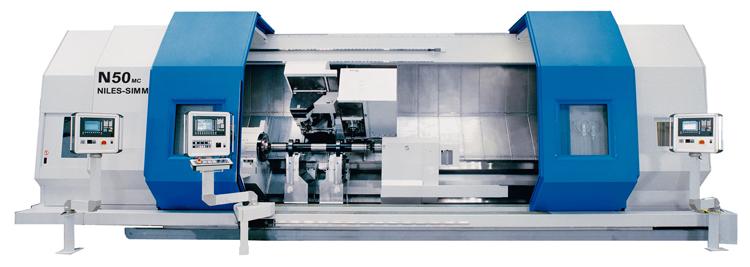 Dreh-Fräs-Zentrum N50 MC / Turn & Mill Center N50 MC / Токарно-фрезерный обрабатывающий центр N50 MC