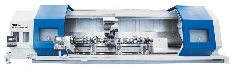 Dreh-Fräs-Zentrum N60 MC / Turn & Mill Center N60 MC / Токарно-фрезерный обрабатывающий центр N60 MC