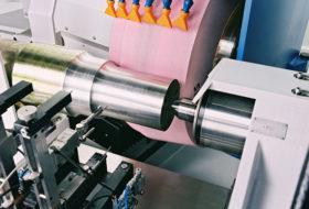 CNC-Achsenschleifmaschine / CNC-Axle Grinding Machine / Шлифовальный станок с ЧПУ для железнодорожных осей