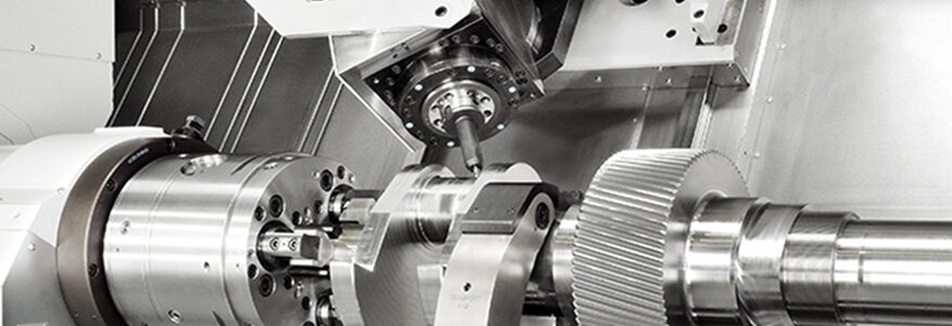 CNC-Dreh-Fräs-Bearbeitungszentren / CNC-Turning and Milling Center