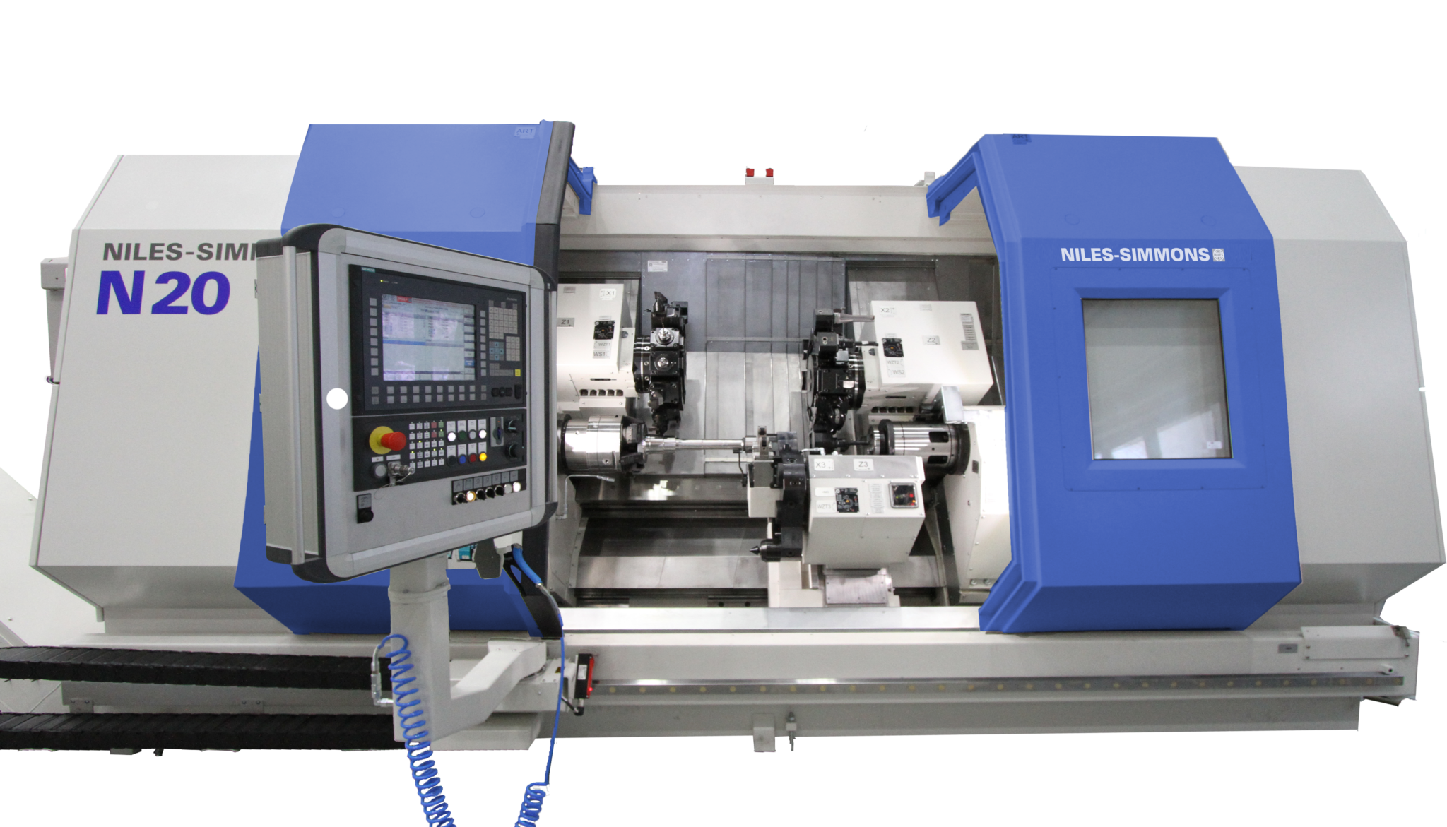 CNC-Drehmaschine N20 / CNC-Lathes N20 / Токарный станок с ЧПУ N20