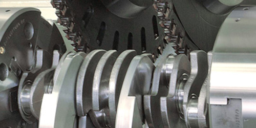 Kurbelwellenfräsen / Crankshaft Milling / Вихрефрезерная обработка