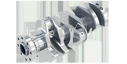 Komplettbearbeitung von Kurbelwelle / Complete machining of Crankshaft/ Полная обработка Коленчатый вал