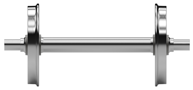 Komplettbearbeitung von Radsatz / Complete machining of Wheel Set / Полная обработка Колесные пары