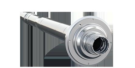 Komplettbearbeitung von Turbinenwelle / Complete machining of Turbine Shaft / Полная обработка Вал турбины