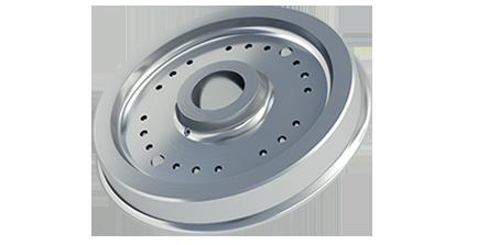 Komplettbearbeitung von Zugrad / Complete machining of Wheel / Полная обработка Колеса