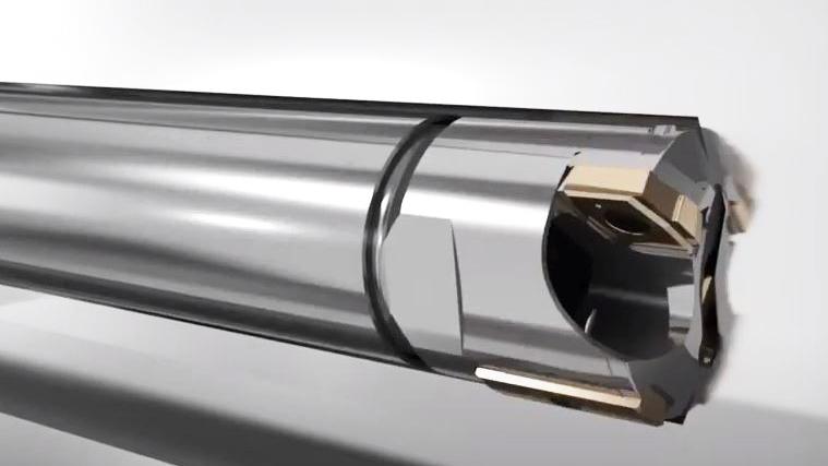 Tieflochbohren-Ejectorbohren / Deep Hole Drilling – Ejector Drilling / Глубокое эжекторное сверлениеEjectorbohren/ / Drilling: Deep hole drilling_Ejector drilling