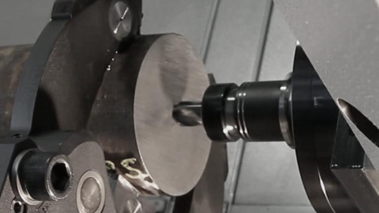 Bohren: Zentrieren / Drilling:Centering