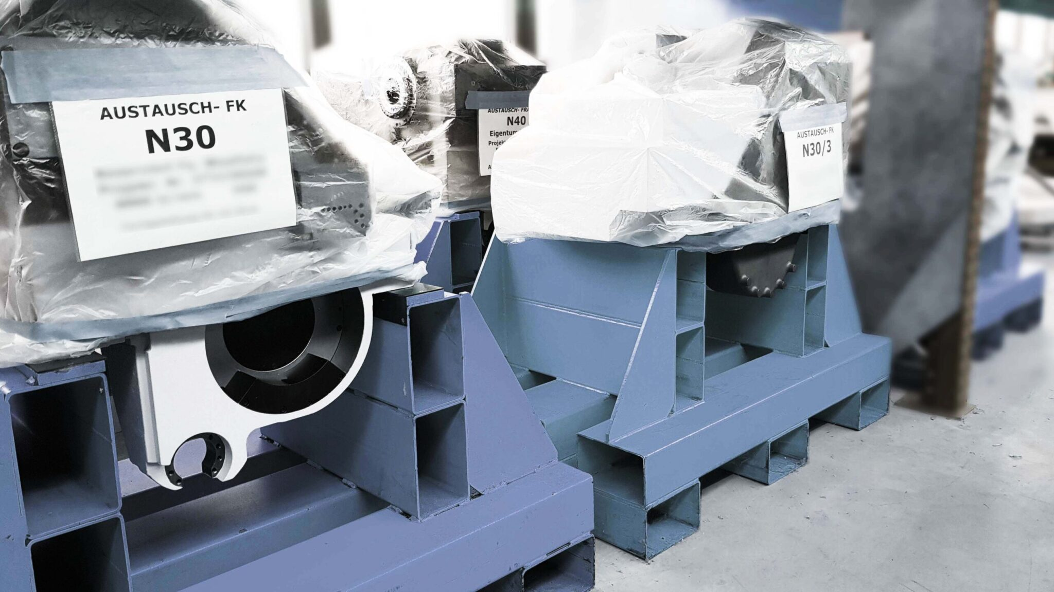 Werkzeugmaschinen Service: Austauschbaugruppen