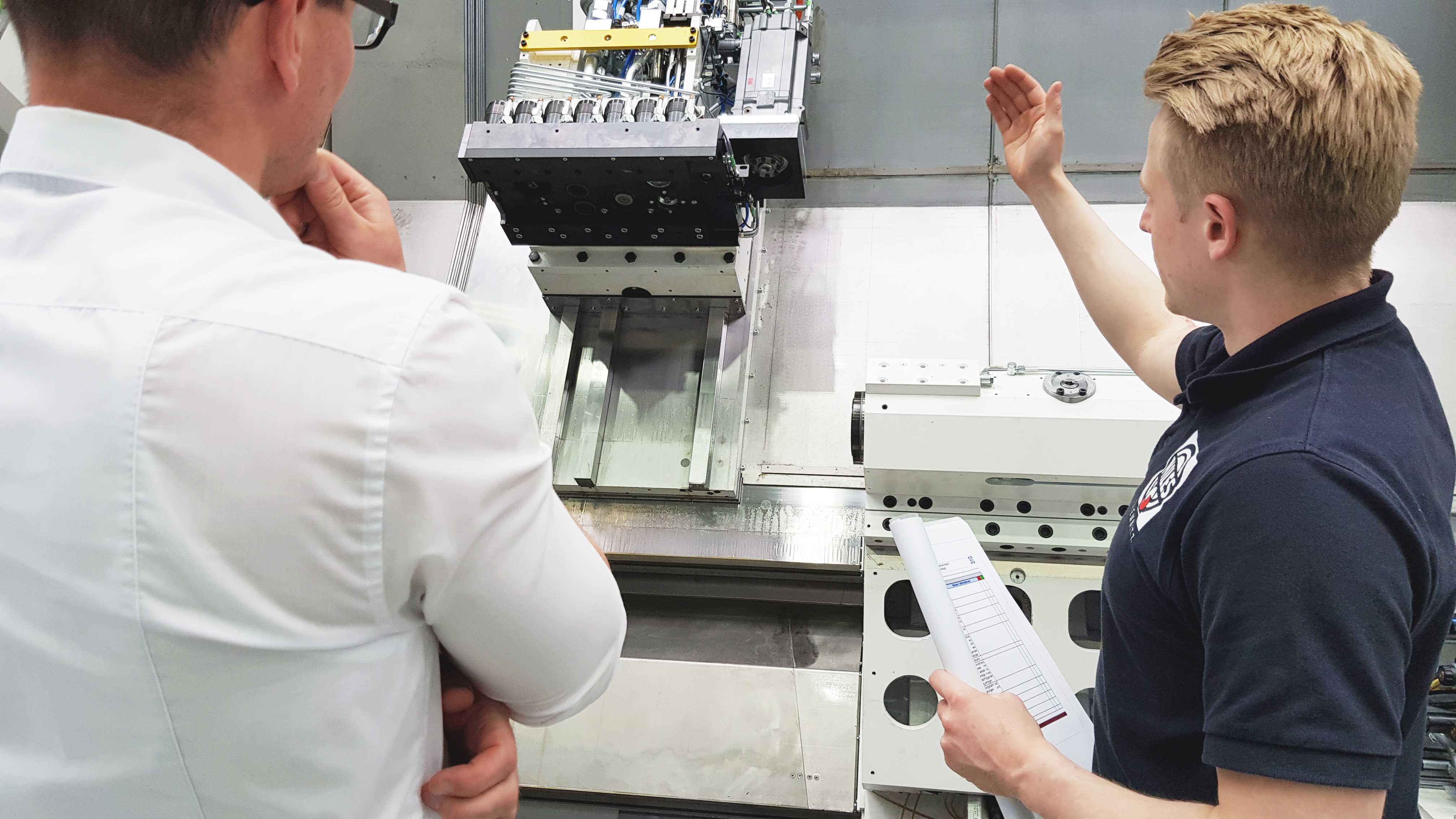 Werkzeugmaschinenbau Service: Inspektion / Machine Tool Service: Inspection